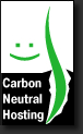 Carbon Neutral Hosting by WebHostingBuzz